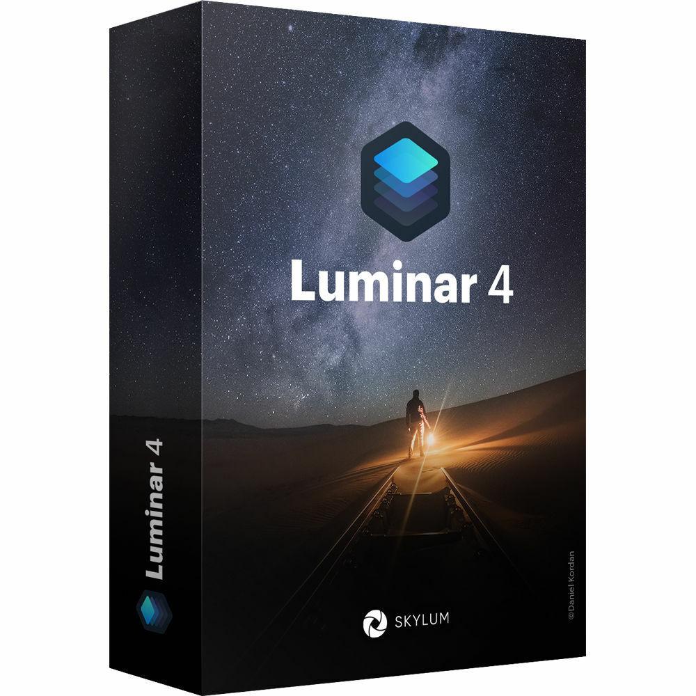 Luminar v4.2 Photo Editor 2020 creative photo editing - Original for Windows