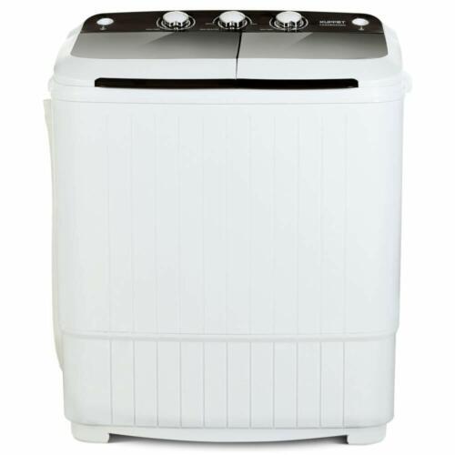 Portable Compact Washing Machine Twin Tub Laundry Washer Spi
