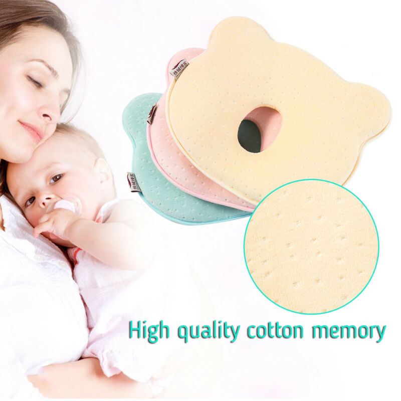 Soft Infant Baby Pillow Prevent Flat Head Memory Foam