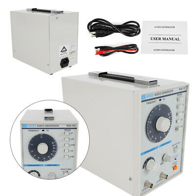 110v Signal Source 10hz-1mhz Audio Low Frequency Signal Generator Audio Signal