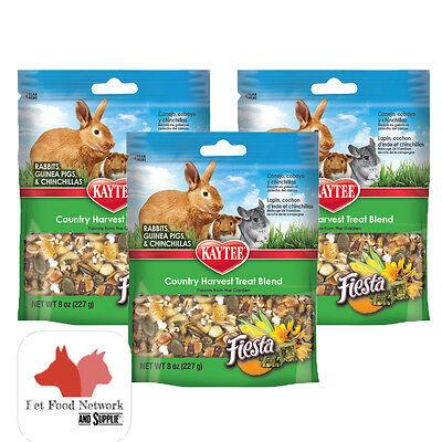 Kaytee Fiesta Country Harvest Treat for Rabbit, Guinea&Chinchilla 7oz  (3 PACK) - Kaytee Rabbit Treats