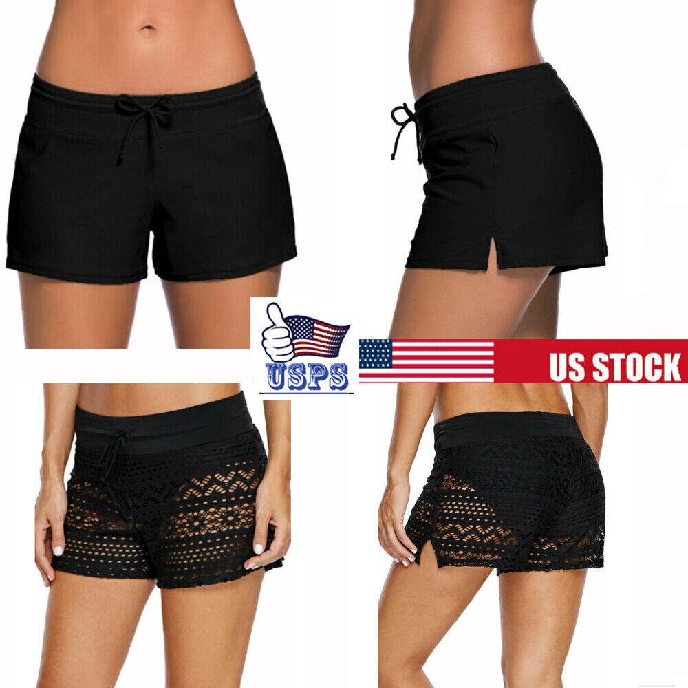 Women Bikini Bottom Tankini Swim Skirt Cover Up Short Beach