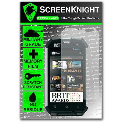 ScreenKnight Caterpillar CAT B15Q SCREEN PROTECTOR invisible shield comprar usado  Enviando para Brazil