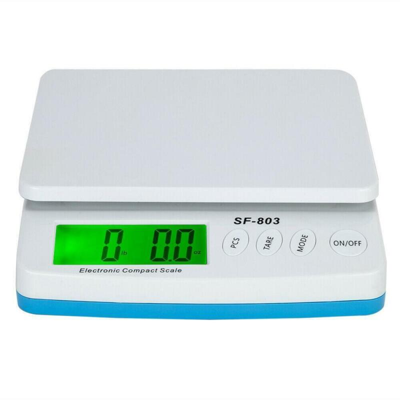 66 LB x 0.1oz Digital Postal Shipping Scale Backlit LCD Package Weigh + Adapter