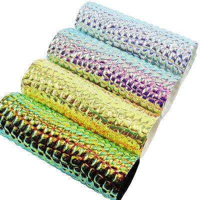 A4 Mirror Faux Leather Leatherette Fabric SheetsDIY HandmadeBowsCraft