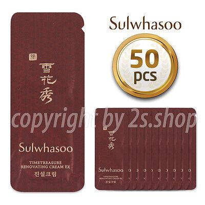 [Sulwhasoo]Timetreasure Invigorating Cream 1ml x 50pcs Anti-Aging
