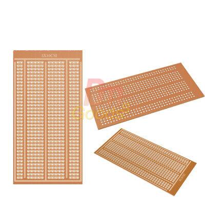 5-20pcs 5x10cm Multi Hole Matrix Circuit Prototype Paper Pcb Board Single Side
