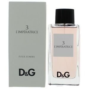 D&G Anthology L'imperatrice 3 by Dolce & Gabbana 3.3oz EDT Spray women