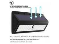 62 LED Solar Lights Motion Sensor 120° Sensing Angle Weatherproof