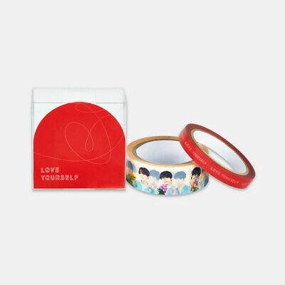 BTS Love Yourself in Seoul Official Goods - Box Tape Set