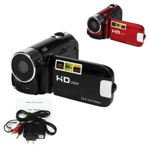 "2.7"" Full HD 1080P Digital Zoom Video Camera DV Camcorder 16MP 16X 32GB SD/SDHC"