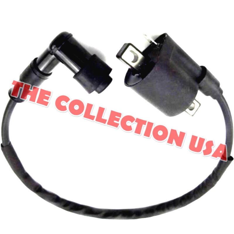 Ignition Coil Spark Plug Wire New For Yamaha Pw 50 Pw50