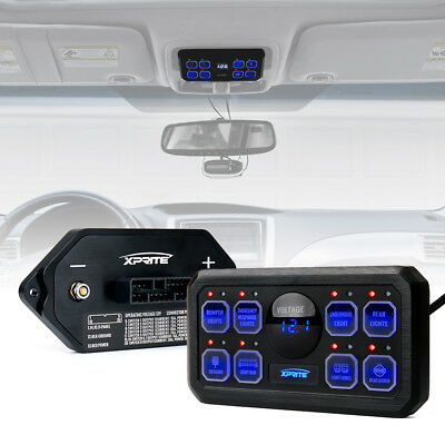 Xprite Rogue Series 8 Switch Panel Control System for Universal UTV ATVJEEP 4WD