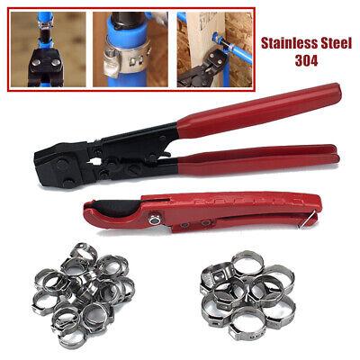 Pex Combo Crimper Tool Crimp Crimping Kit Tubing Plumbing Home Durable Fastener
