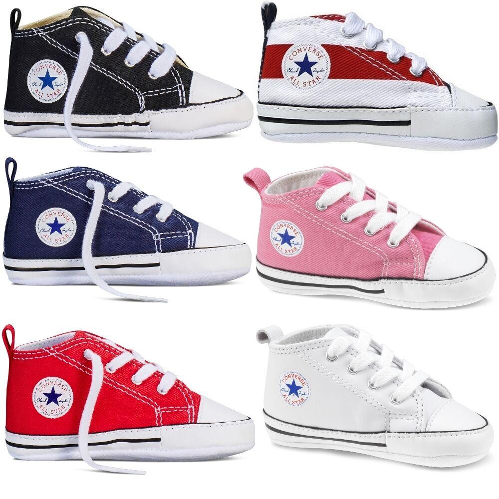 Converse Baby First Star Stoff Schuhe Chucks Babyschuhe Kinderschuhe Gr. 17-20