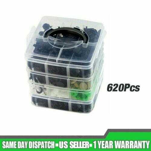 Car Parts - 620Pcs/Set Plastic Auto Fasteners Car Bumper Fender Repair Parts Clips 24 Kinds