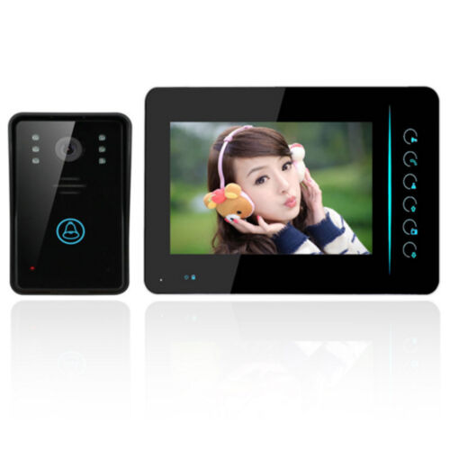"7"" Tft Touch Wireless Video Door Phone Doorbell Ir Camera..."