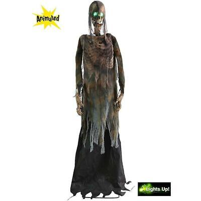 ANIMATED LifeSize Eerie TWITCHING CORPSE Halloween Haunted House Decoration Prop](Eerie Halloween Decorations)