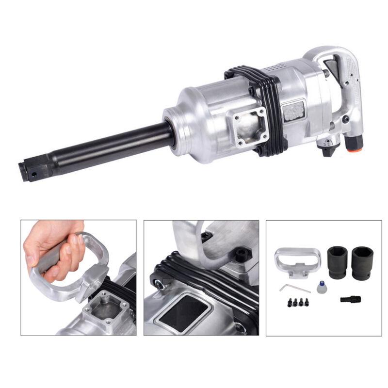 "New Heavy Duty 1"" Air Impact Wrench Gun Long Shank Commercial Truck Mechanics"