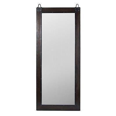 """Hinkley Industrial Floor Mirror Brown - (70x30""""x1.5"""")"""