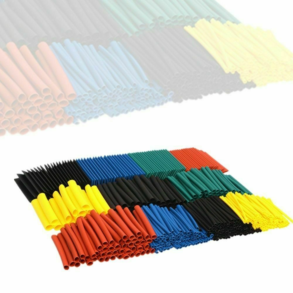 1060Pcs Heat Shrink Tubing Insulation Shrinkable Tube 2:1 Wire Cable Sleeve Kit Business & Industrial