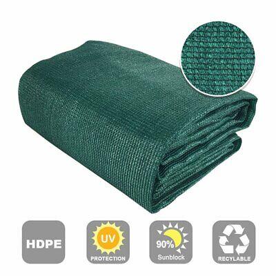 Shatex 90% Sunblock Outdoor Sunscreen Roll Shade Cloth Dark Green Color