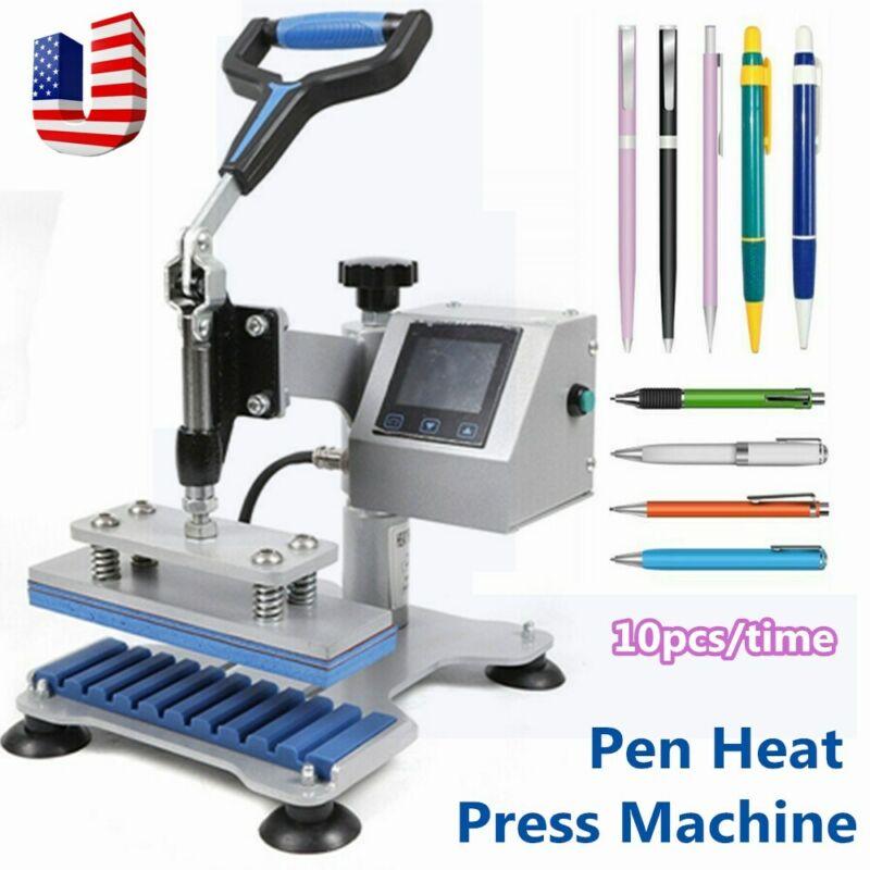 Ballpoint Pen Heat Transfer Machine Pen Heat Press Machine Printing LCD Display