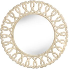 Designer Heart Mirror Olivia Ex Showhome Large 90cm