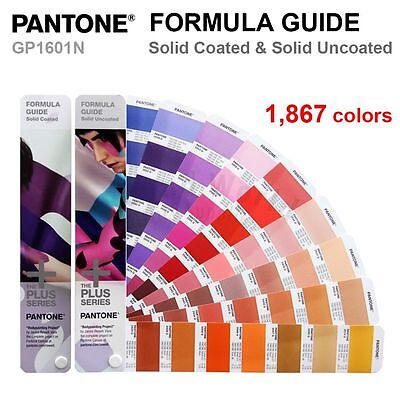 Pantone Plus Series Gp1601n Color Formula Guide Solid Coated Uncoated- New