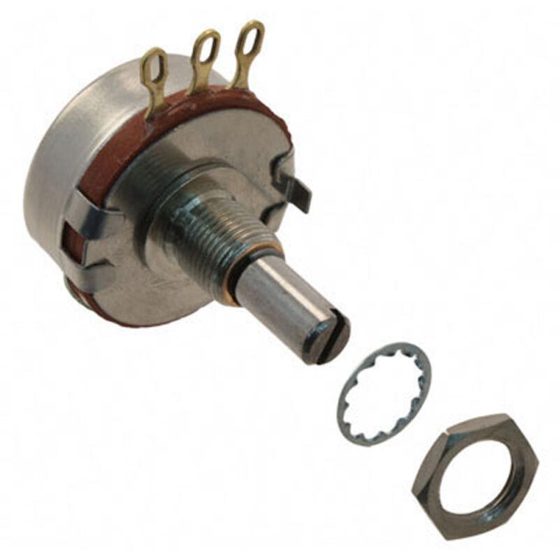 Clarostat/Honeywell RV4NAYSD502A 5k Ohm 2 Watt Potentiometer 10% 6.35mm
