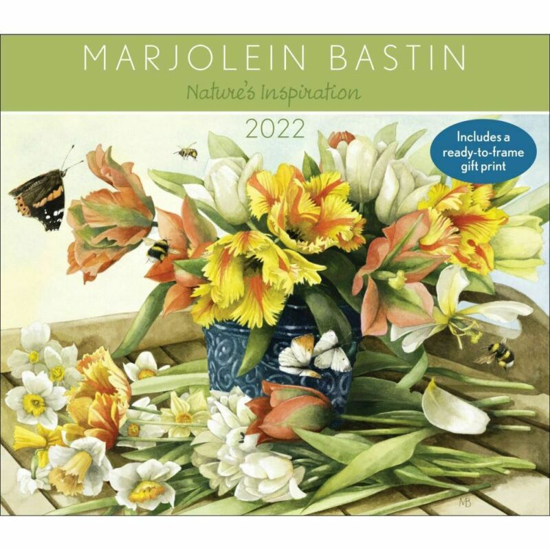 Andrews McMeel Publishing,  Marjolein Bastin Natures Inspiration 2022 Deluxe Wal