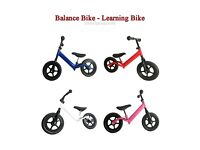 NEW PREDATOUR BALANCE BIKE LEARNING BIKE AND RUNNING TOY FOR KIDS - 4 COLOURS AVAILABLE - WHOLESALE