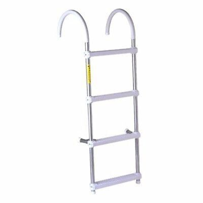 Gunwale Hook Ladder 3 Step - Garelick 05037:01 Gunwale Hook Ladder EEz-In 3-Step 7