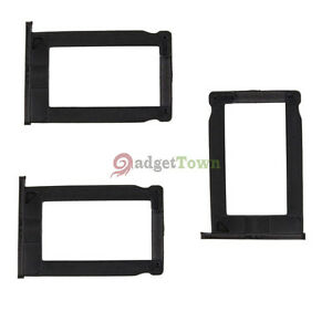 3 × Brand New Sim Card Tray Holder for Apple iPhone 3G 3GS Black
