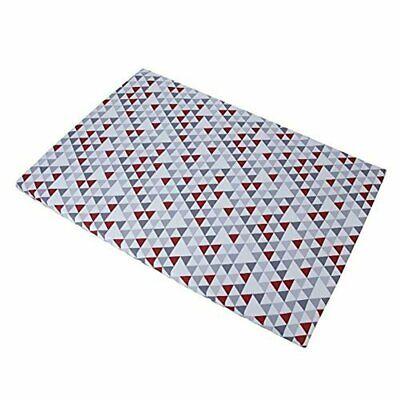 Baby Trend Grey/red/white Hidden Pyramid Play Yard Sheet Baby Trend Play Yard