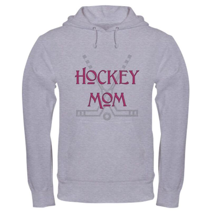 CafePress - Hockey Mom Pink - Sweatshirt
