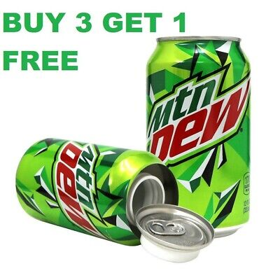 DEW SODA STASH CAN SAFES BUY 3 GET 1 FREE MIX OR MATCH