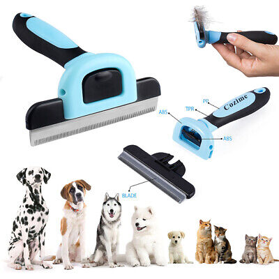 Dog Brush for Shedding-Best Cat Grooming Comb Tools Hair Pet Trimmer Clipper