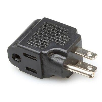 Hosa PWA-486 Right-Angle Power Adaptor Plug Adapter NEMA 5-15R to NEMA 5-15P