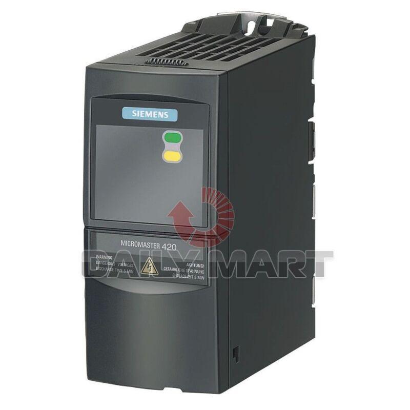 SIEMENS NEW 6SE6420-2UD21-5AA1 6SE6 420-2UD21-5AA1 PLC DRIVE 2HP 1.5 KW