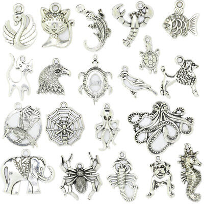 ver Animals Theme Charm Pendant For Charm Jewelry DIY Making (Silvester Theme)