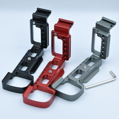 L Plate Bracket Holder Vertical Shooting Hand Grip Holder for Sony 6400M A6400