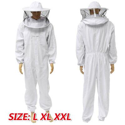 Beekeeping Suit Protective Jacket Hood Bee Keeping Clothing With Round Veil Hood