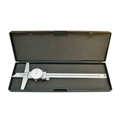 12-18l Stainless Steel 8 Inch 200mm Metric Dual Dial Calipermeasuring Tool