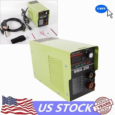 110v 20-120a Mini Handheld Mma Electric Welder Inverter Arc Welding Machine Tool