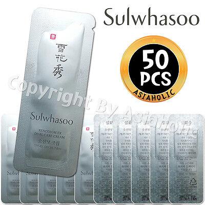 Sulwhasoo Renodigm EX Dual Care Cream 1ml x 50pcs (50ml) Sample AMORE PACIFIC