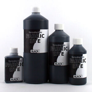 black liquid fabric dye all sizes for upholstery sofa clothes denim shoe etc ebay. Black Bedroom Furniture Sets. Home Design Ideas