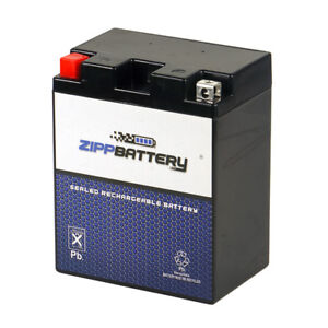 YTX14AH-BS  High Performance - Maintenance Free - Sealed AGM Motorcycle Battery