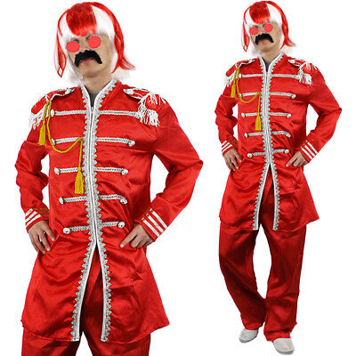 ST GEORGE SERGEANT PEPPER COSTUME ENGLAND MENS WORLD CUP 2018 FANCY DRESS OUTFIT](St Pepper Costume)