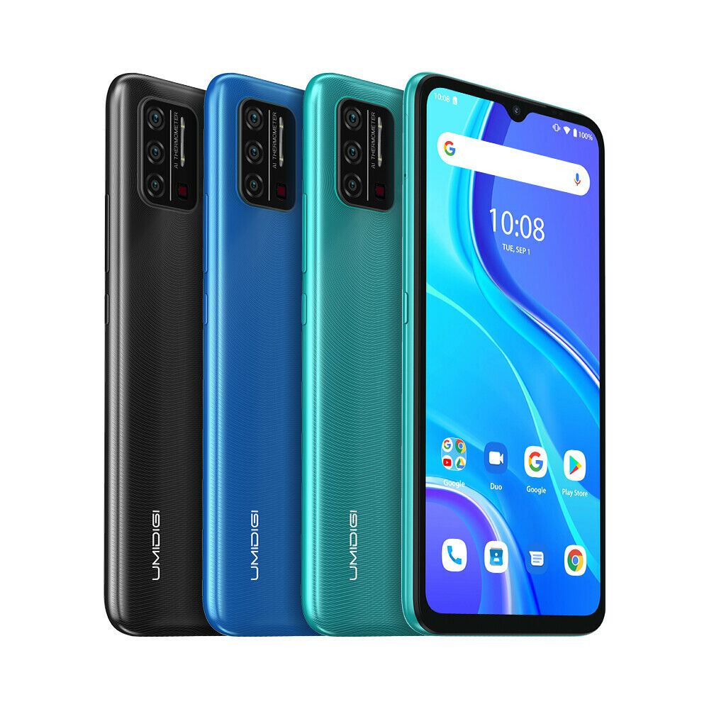 Android Phone - UMIDIGI A7S Smartphone 6.53'' with Infrared Temperature Sensor Factory Unlocked